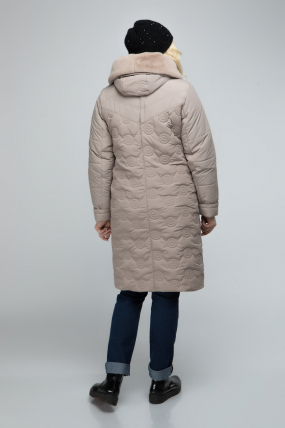 Куртка бежевый Пион 2495