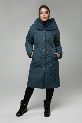 Пальто Роза джинс 2496