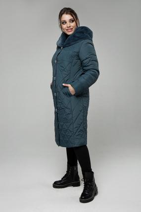 Пальто Роза джинс 2497