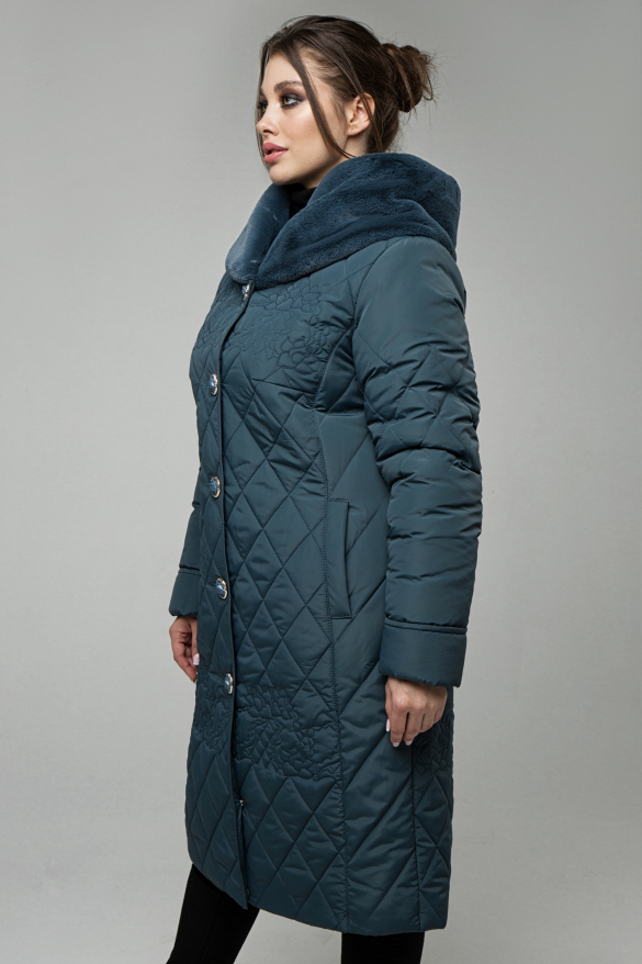 Пальто Роза джинс