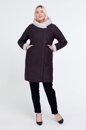 Куртка коричнева В 111