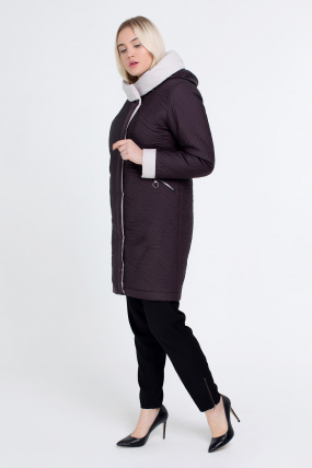Куртка коричнева В 111 2506