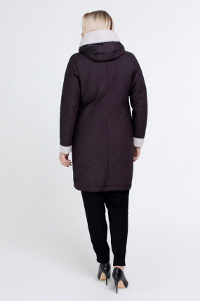 Куртка коричнева В 111 2507
