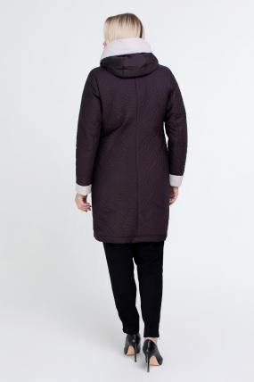 Куртка коричневая В 111 2507