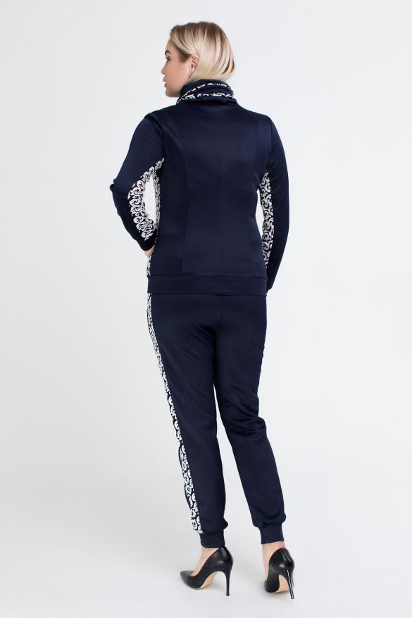 Спортивный костюм Артек синий с белым