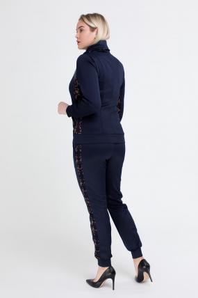 Спортивний костюм Артек синій з коричневим 2519