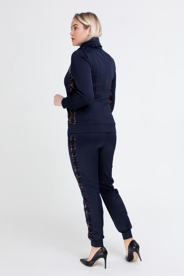 Спортивний костюм Артек синій з коричневим