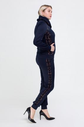 Спортивний костюм Артек синій з коричневим 2520
