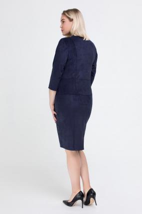 Платье синее Памела 2540