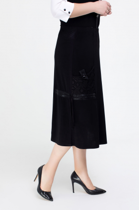 Юбка черная Дона 2552