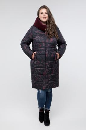 Куртка бордо Марлен