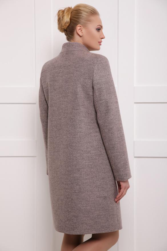 Пальто женское Сара пудра
