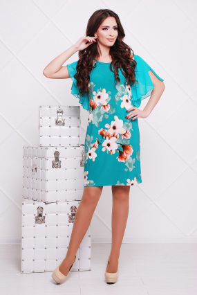 Сукня бірюзова Магнолія 26