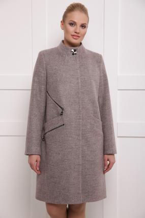 Пальто женское Сара пудра 260