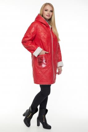 Куртка малиновая В 67 2600