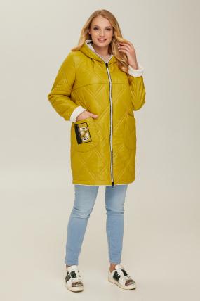 Куртка горчица В 67 2611