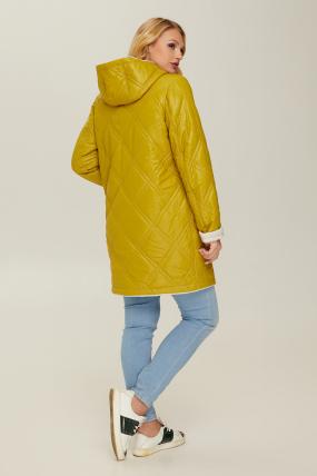 Куртка горчица В 67 2612