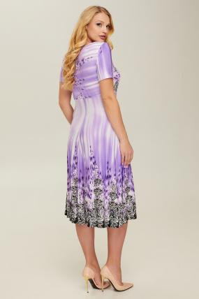 Платье сиреневое Мамба 2643