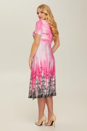 Платье розовое Мамба 2645