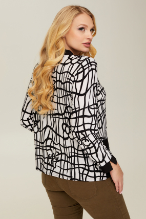Блуза белый Березка 2655