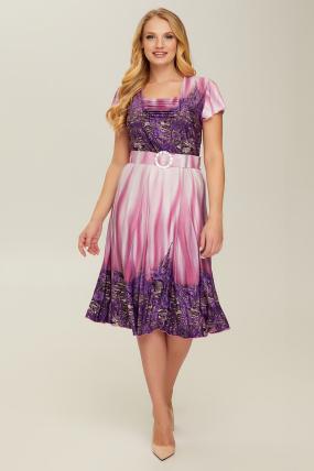 Платье фиолетовое Леся 2658
