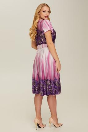 Платье фиолетовое Леся 2659