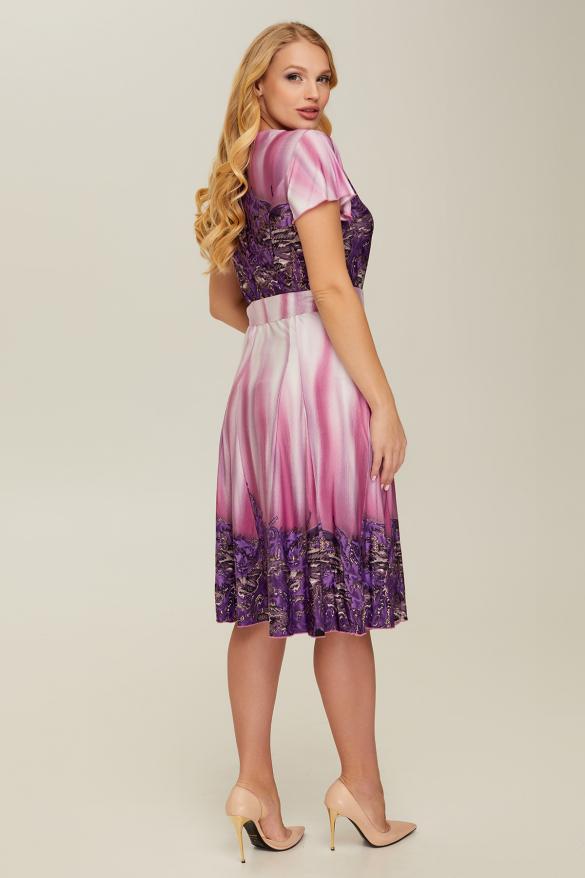 Платье фиолетовое Леся