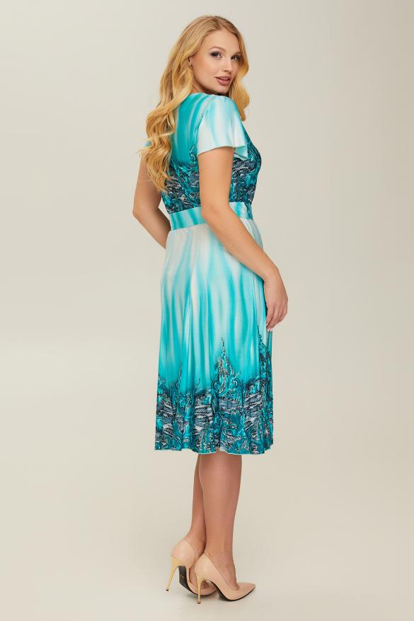 Сукня бірюзова Леся