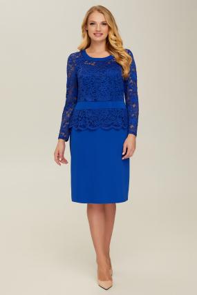 Платье синее Андора