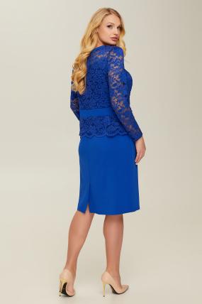 Сукня синя Андора 2665