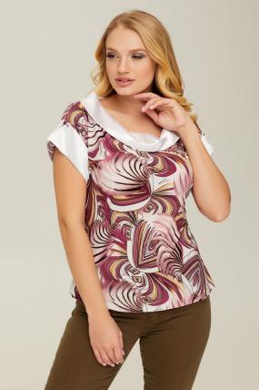 Блуза розовая Лидия 2668