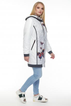 Куртка белая В 767 2687