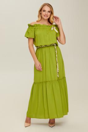 Сарафан зелений Флірт 2689