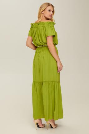 Сарафан зелений Флірт 2690