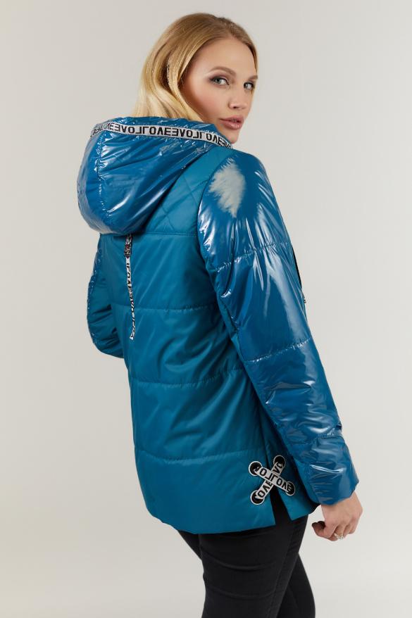Куртка бирюза В 127
