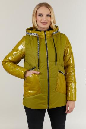 Куртка горчица В 127 2703