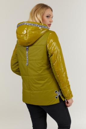 Куртка горчица В 127 2704