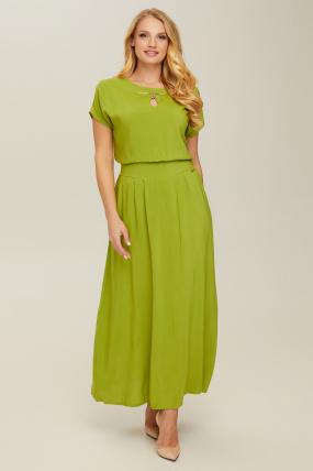 Платье зеленое Маркиза