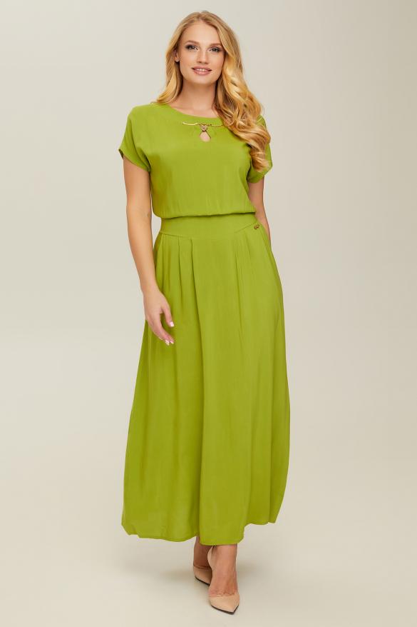 Сукня зелена Маркіза