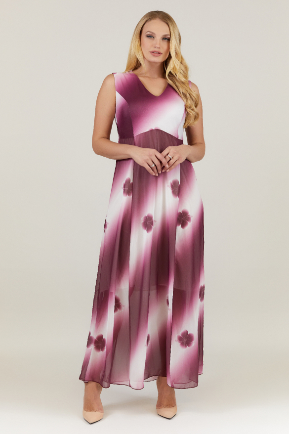 Платье фуксия Илона