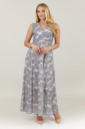 Платье бежевое Илона