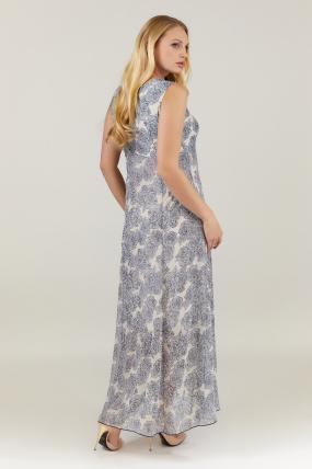 Платье бежевое Илона 2727
