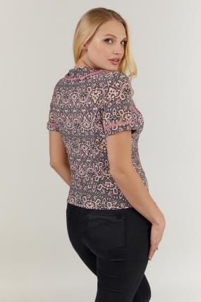 Блуза рожева Заріна 2731