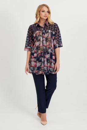Блуза Поллі димчата 2775