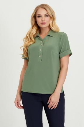 Блуза Ира оливковая  2800