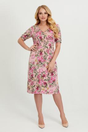 Платье Лейла розовое