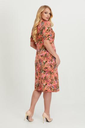 Платье Лейла коралл 2807