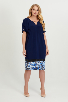 Платье Зурима синее 2831
