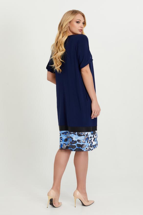 Платье Зурима синее