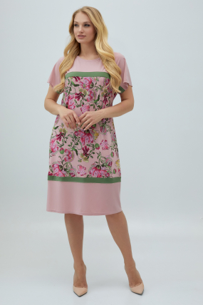 Сукня Ельза рожеве 2846
